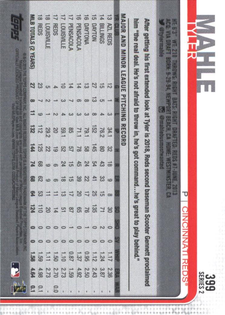 2019-Topps-Baseball-Scheda-Scegliere-251-500 miniatura 297