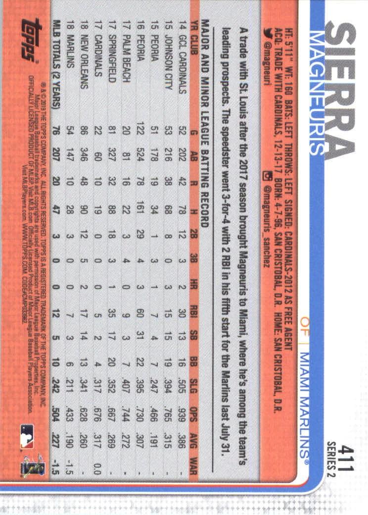 2019-Topps-Baseball-Scheda-Scegliere-251-500 miniatura 315