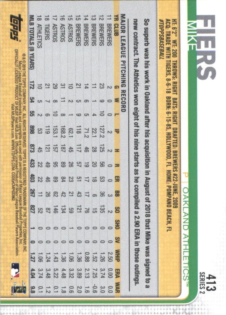 2019-Topps-Baseball-Scheda-Scegliere-251-500 miniatura 319