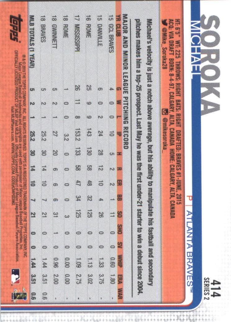 2019-Topps-Baseball-Scheda-Scegliere-251-500 miniatura 321