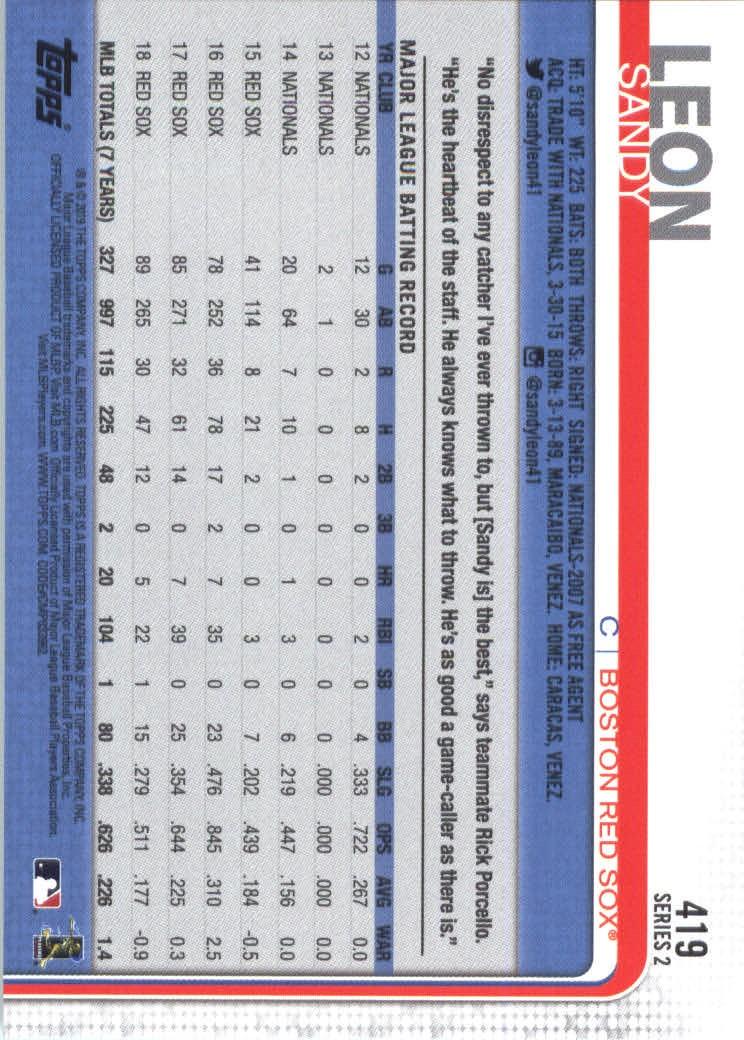 2019-Topps-Baseball-Scheda-Scegliere-251-500 miniatura 331