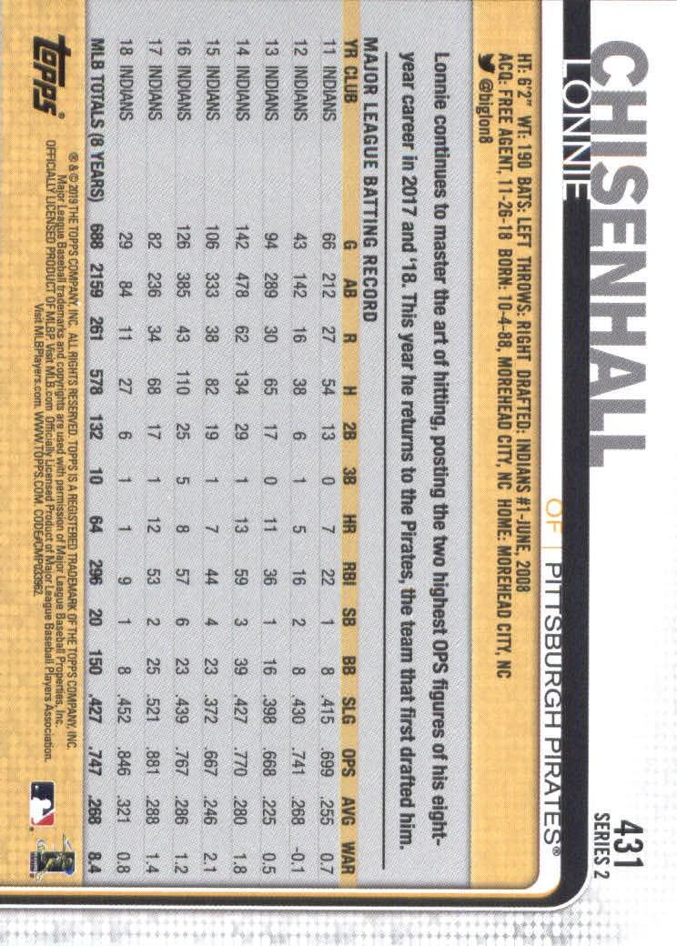 2019-Topps-Baseball-Scheda-Scegliere-251-500 miniatura 355