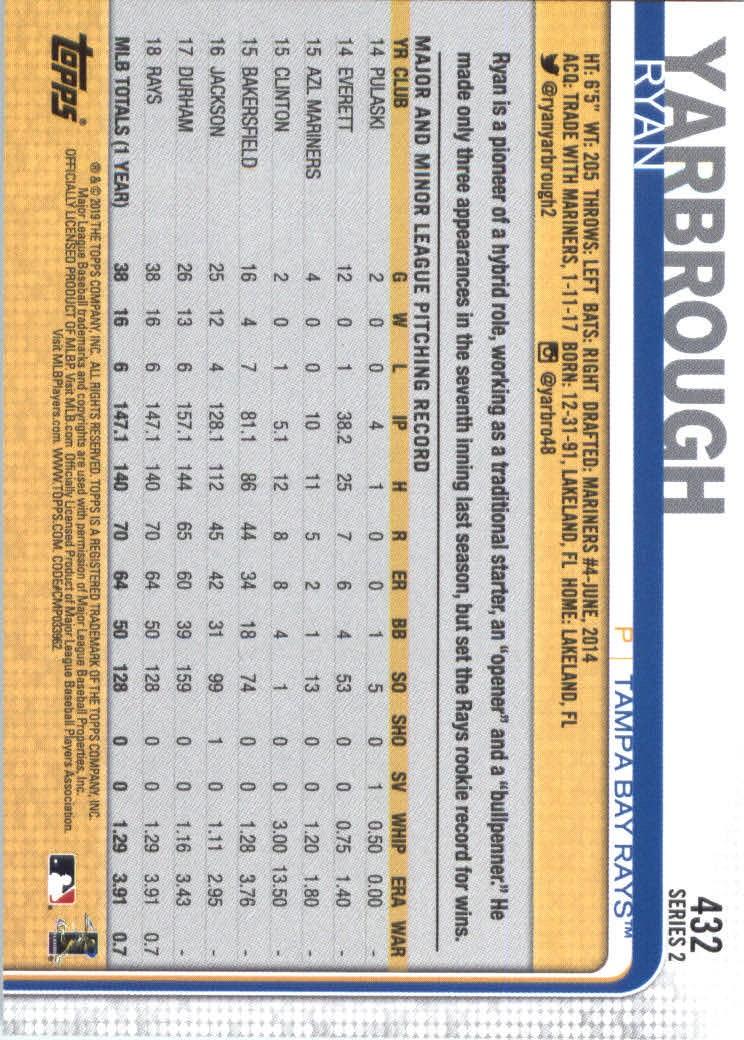 2019-Topps-Baseball-Scheda-Scegliere-251-500 miniatura 357
