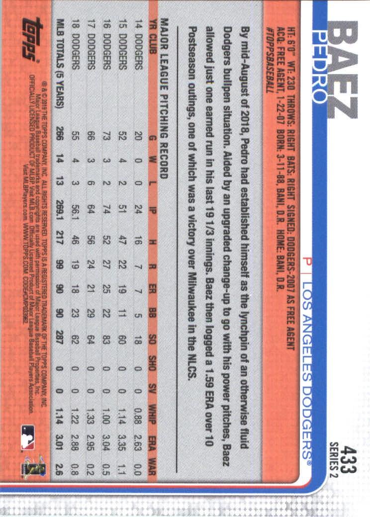 2019-Topps-Baseball-Scheda-Scegliere-251-500 miniatura 359