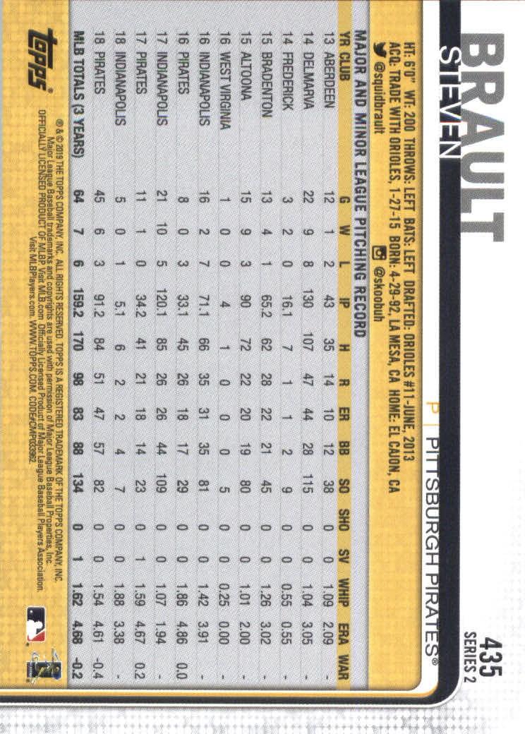 2019-Topps-Baseball-Scheda-Scegliere-251-500 miniatura 363