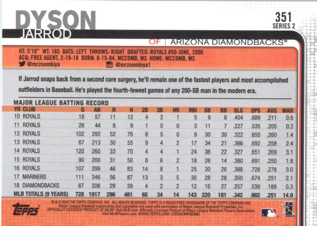 2019-Topps-Baseball-Scheda-Scegliere-251-500 miniatura 203