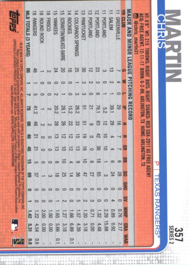2019-Topps-Baseball-Scheda-Scegliere-251-500 miniatura 215
