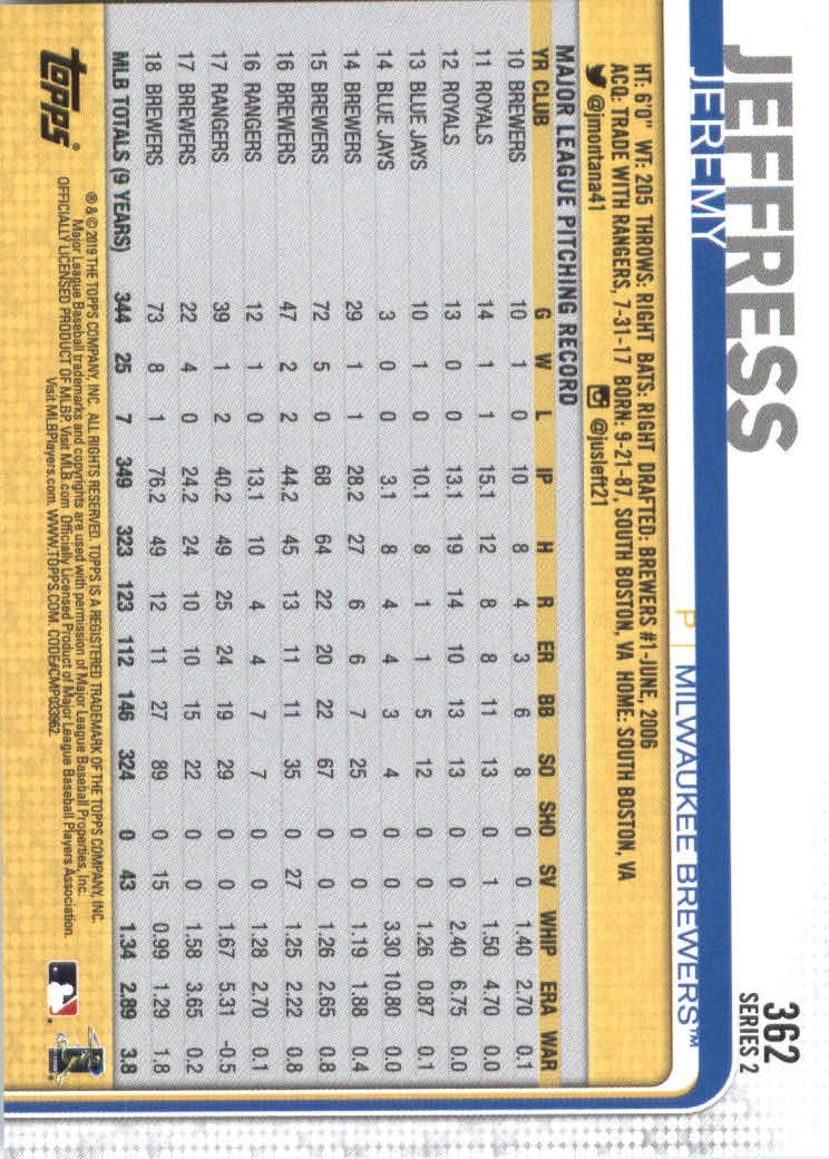 2019-Topps-Baseball-Scheda-Scegliere-251-500 miniatura 225