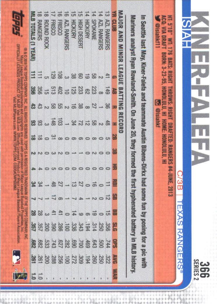 2019-Topps-Baseball-Scheda-Scegliere-251-500 miniatura 233