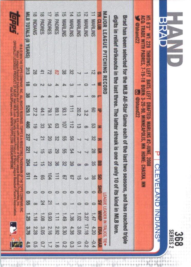 2019-Topps-Baseball-Scheda-Scegliere-251-500 miniatura 237