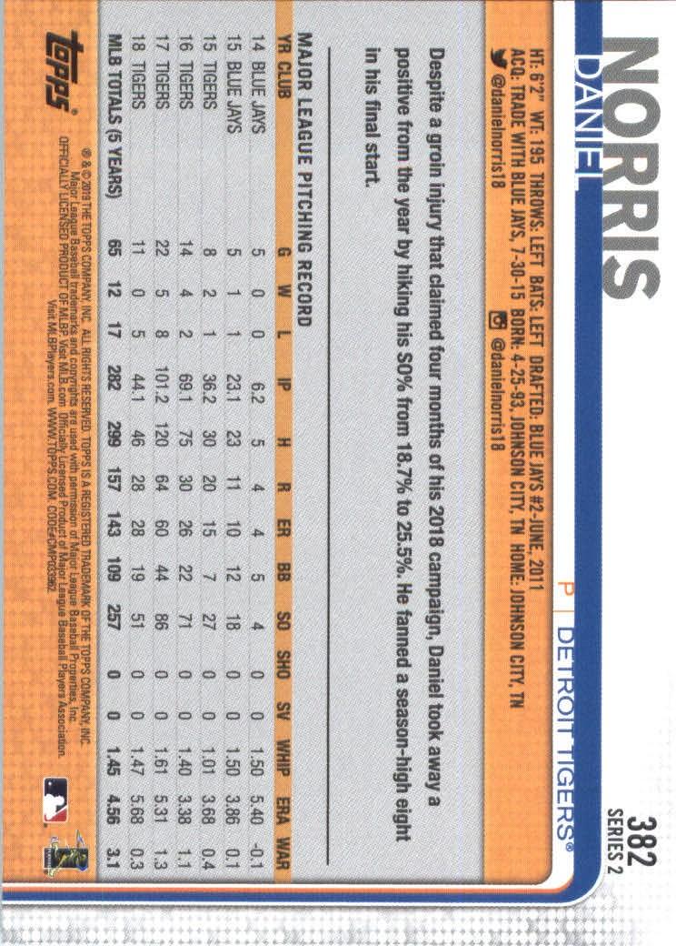 2019-Topps-Baseball-Scheda-Scegliere-251-500 miniatura 263