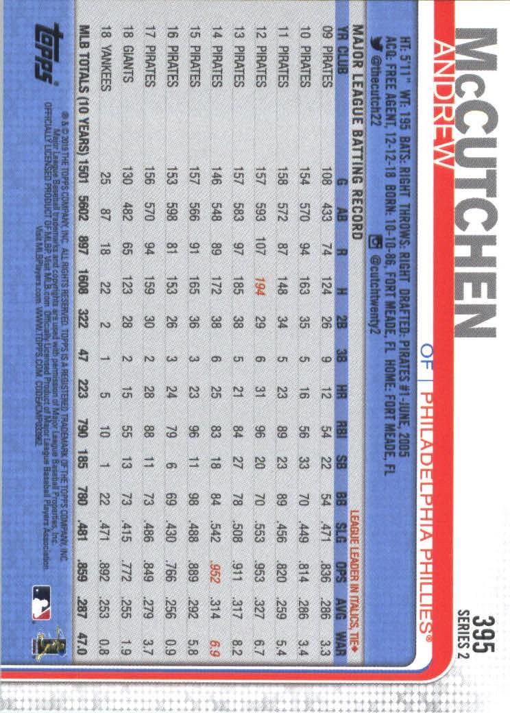 2019-Topps-Baseball-Scheda-Scegliere-251-500 miniatura 289