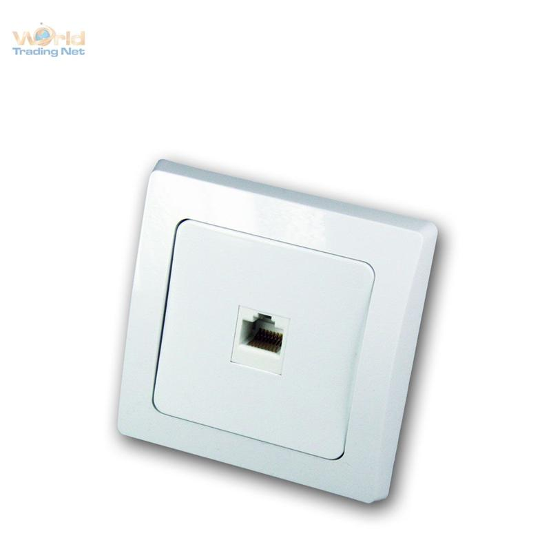 DELPHI-Netzwerkdosen-unterputz-weiss-RJ45-Lichtwellenleiter-LAN-DSL-Glasfaser Indexbild 7