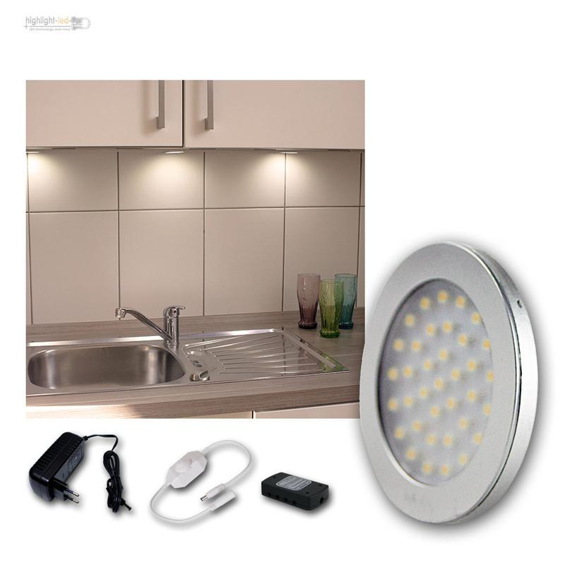 LED-Lampara-para-montar-SETS-luz-encimera-Iluminacion-Cocina-Muebles-de-la-Spot