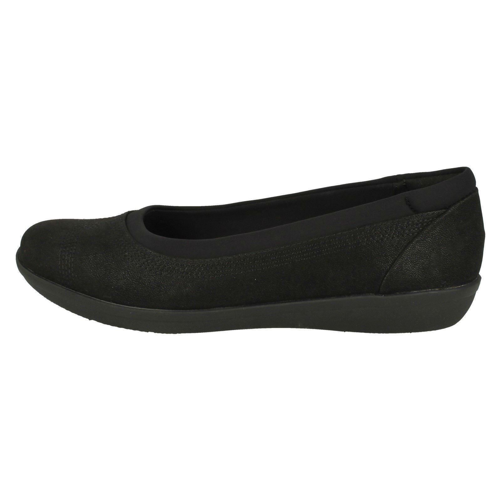 Mujer Nube Clarks Cordones Steppers Bajo Ayla Zapatos Sin d6xvxqwrX