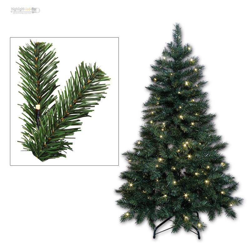 Sapin de no l artificiel arbre avec clairage led pour for Sapin led interieur