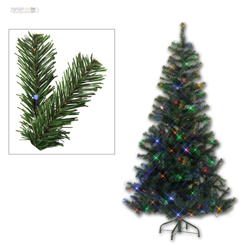 sapin de no l artificiel arbre avec clairage led pour int rieur ext rieur ebay. Black Bedroom Furniture Sets. Home Design Ideas