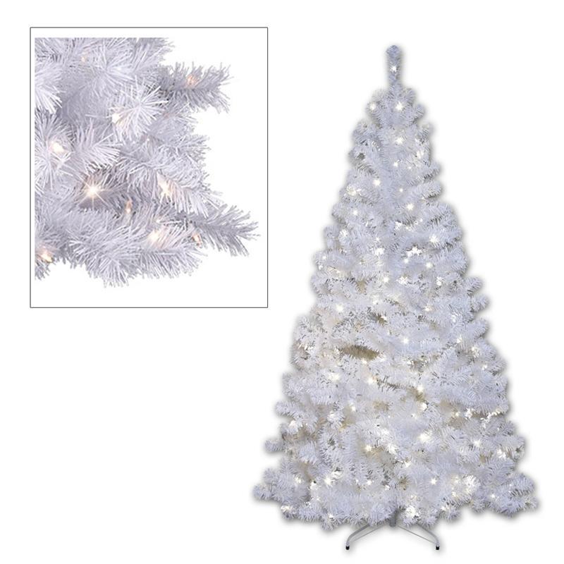 Arbol-Navidad-Plastico-Arbol-de-con-Iluminacion-Led-para-el-Interior-amp