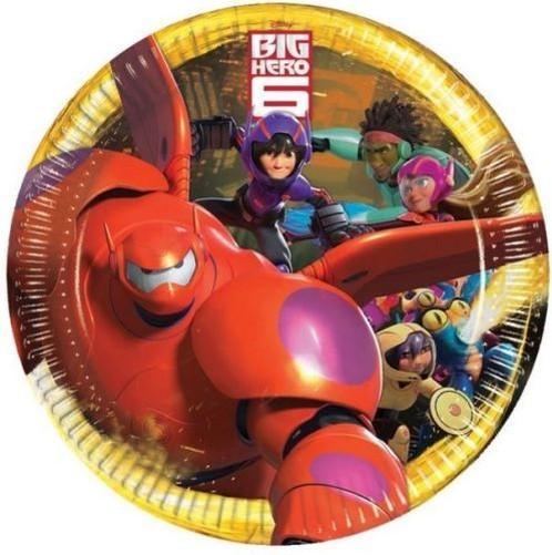Pack-8-22-9cmchildrens-Cumpleanos-Platos-de-papel-para-Fiesta-Personajes-Disney