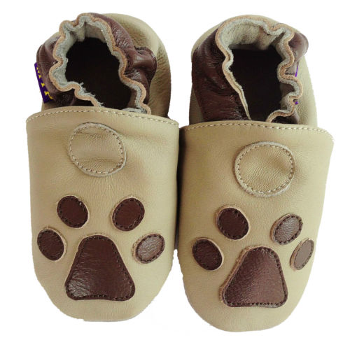 coolMYP© Baby lamb leather shoes crawling house slippers