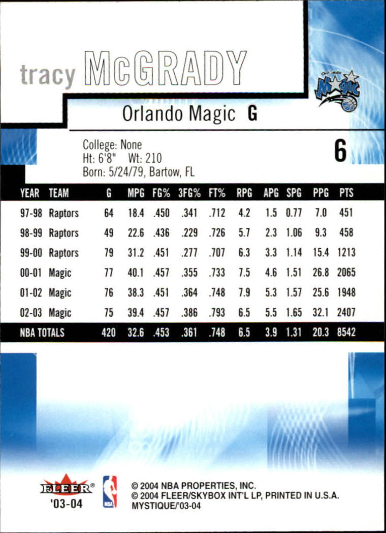 2003-04-Fleer-Mystique-Basketball-Card-Pick thumbnail 13