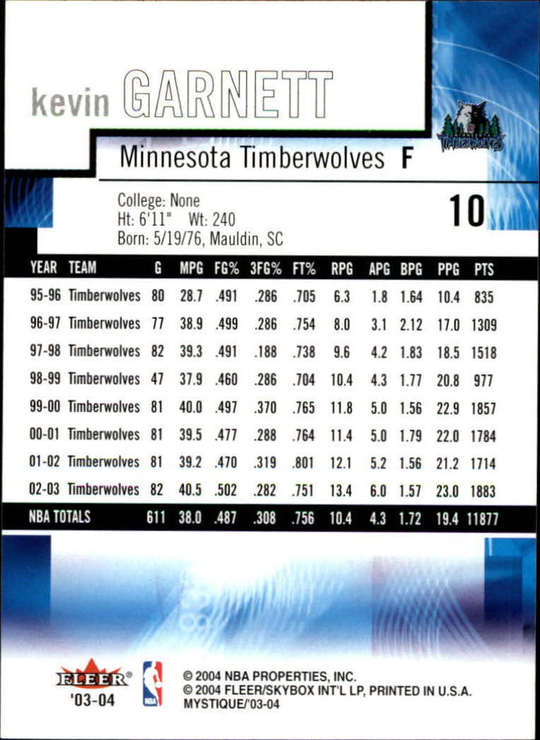 2003-04-Fleer-Mystique-Basketball-Card-Pick thumbnail 21