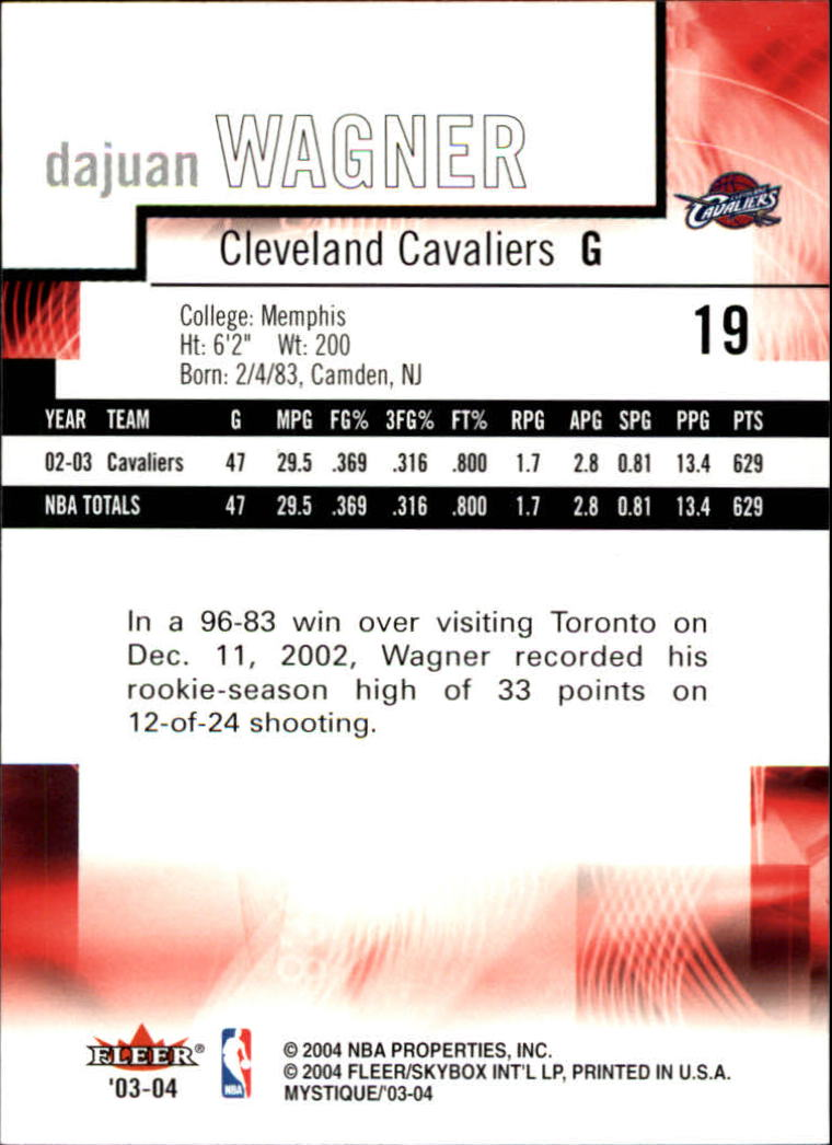 2003-04-Fleer-Mystique-Basketball-Card-Pick thumbnail 39