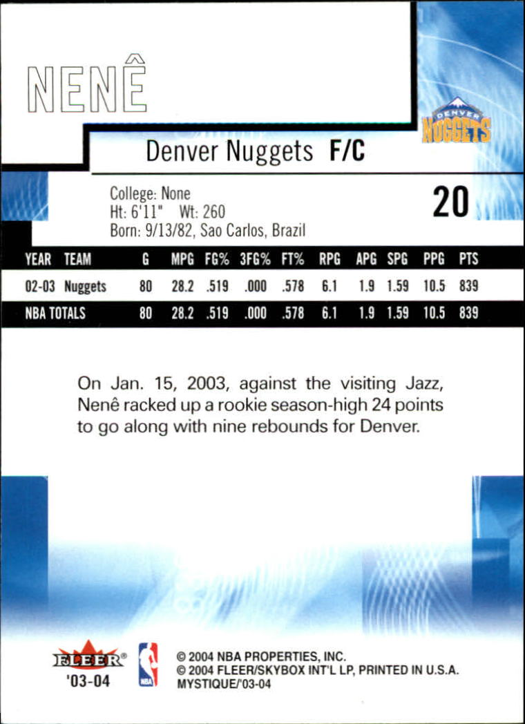 2003-04-Fleer-Mystique-Basketball-Card-Pick thumbnail 41