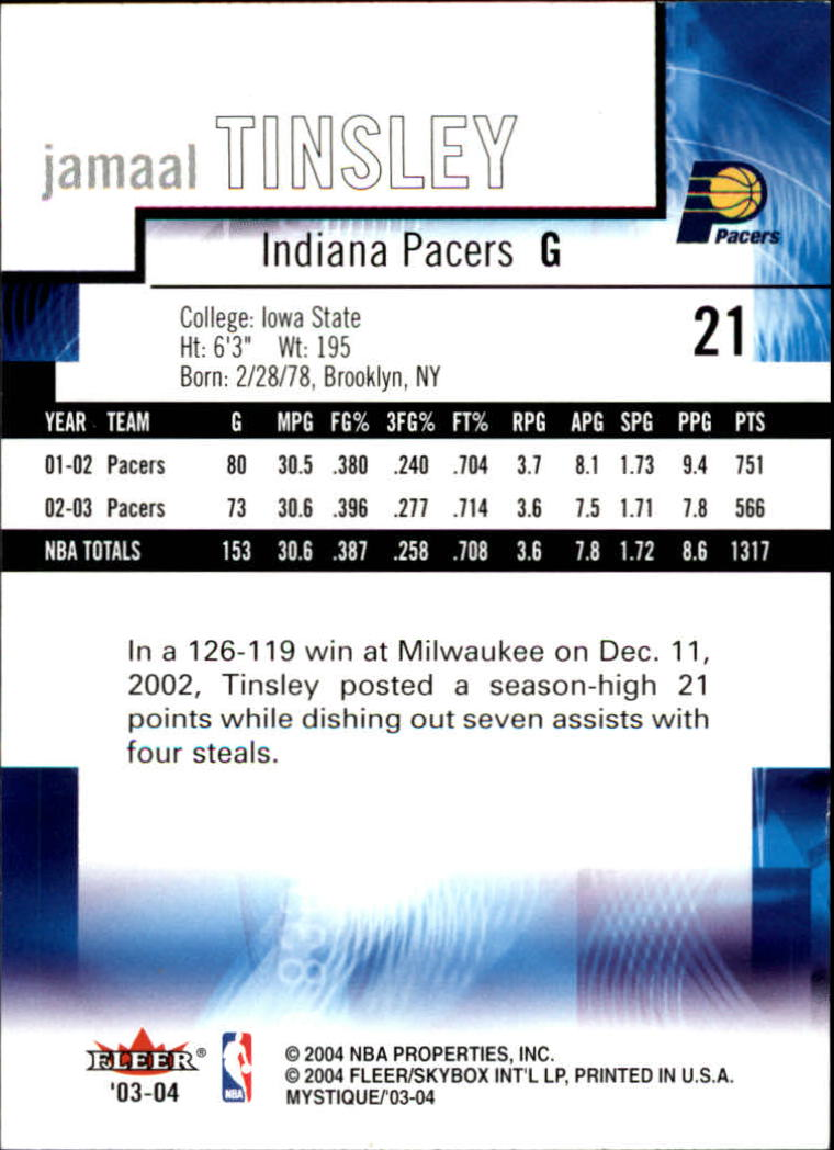 2003-04-Fleer-Mystique-Basketball-Card-Pick thumbnail 43