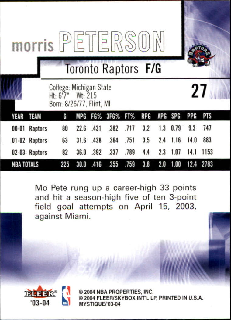 2003-04-Fleer-Mystique-Basketball-Card-Pick thumbnail 53