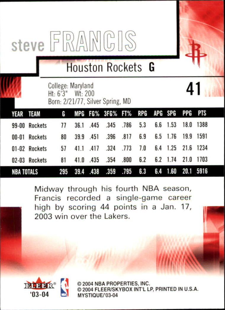 2003-04-Fleer-Mystique-Basketball-Card-Pick thumbnail 79