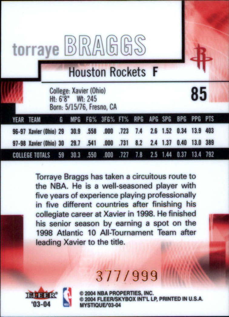 2003-04-Fleer-Mystique-Basketball-Card-Pick thumbnail 157