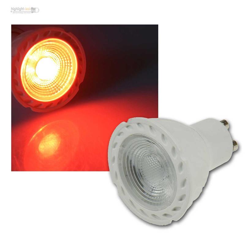 Reflecteur-Led-GU10-LDS-50-Rouge-Vert-Bleu-230V-5W-Ampoule-Spot-Couleur-Unie