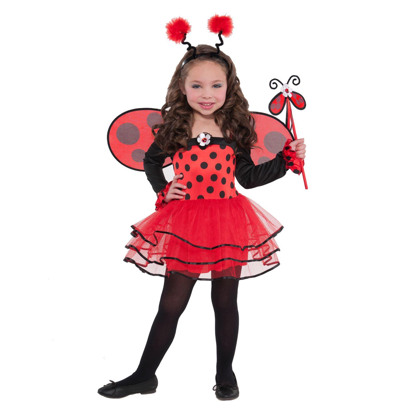 De chica disfraz de carnaval insecto mariquita bicho for Disfraces de bichos