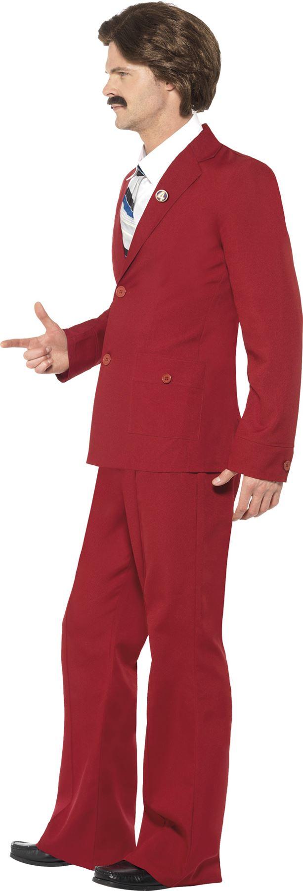 hommes-OFFICIEL-Ron-BORDEAUX-Anchorman-Lecteur-de-News-costume-deguisement