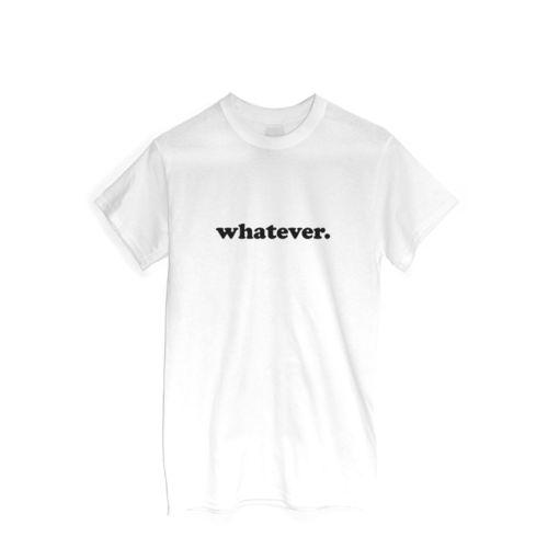 Whatever-T-Shirt-Drole-Vetements-Ideal-Cadeau-Sarcasme