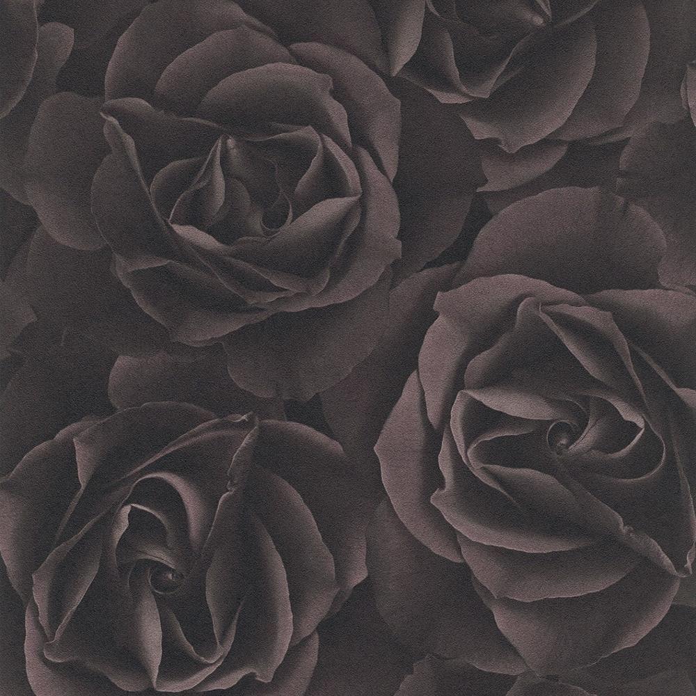 Rasch-Flores-Rosas-Patron-de-Papel-Tapiz-Moderno-Mural-Motivos-Florales-con