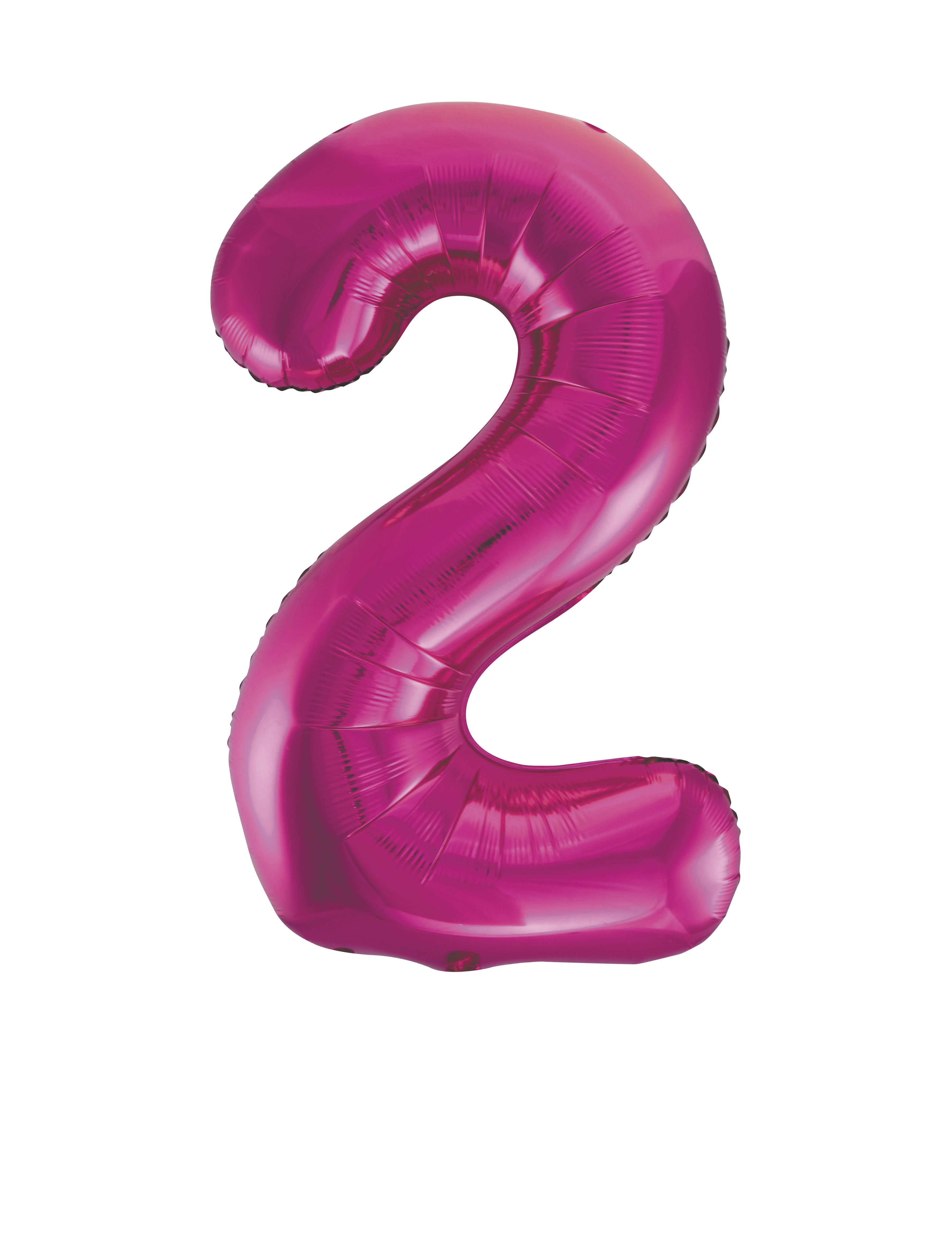 86-4cm-Geant-Aluminium-Numero-Rose-Helium-Gros-Ballons-Fete-D-039-Anniversaire miniature 7