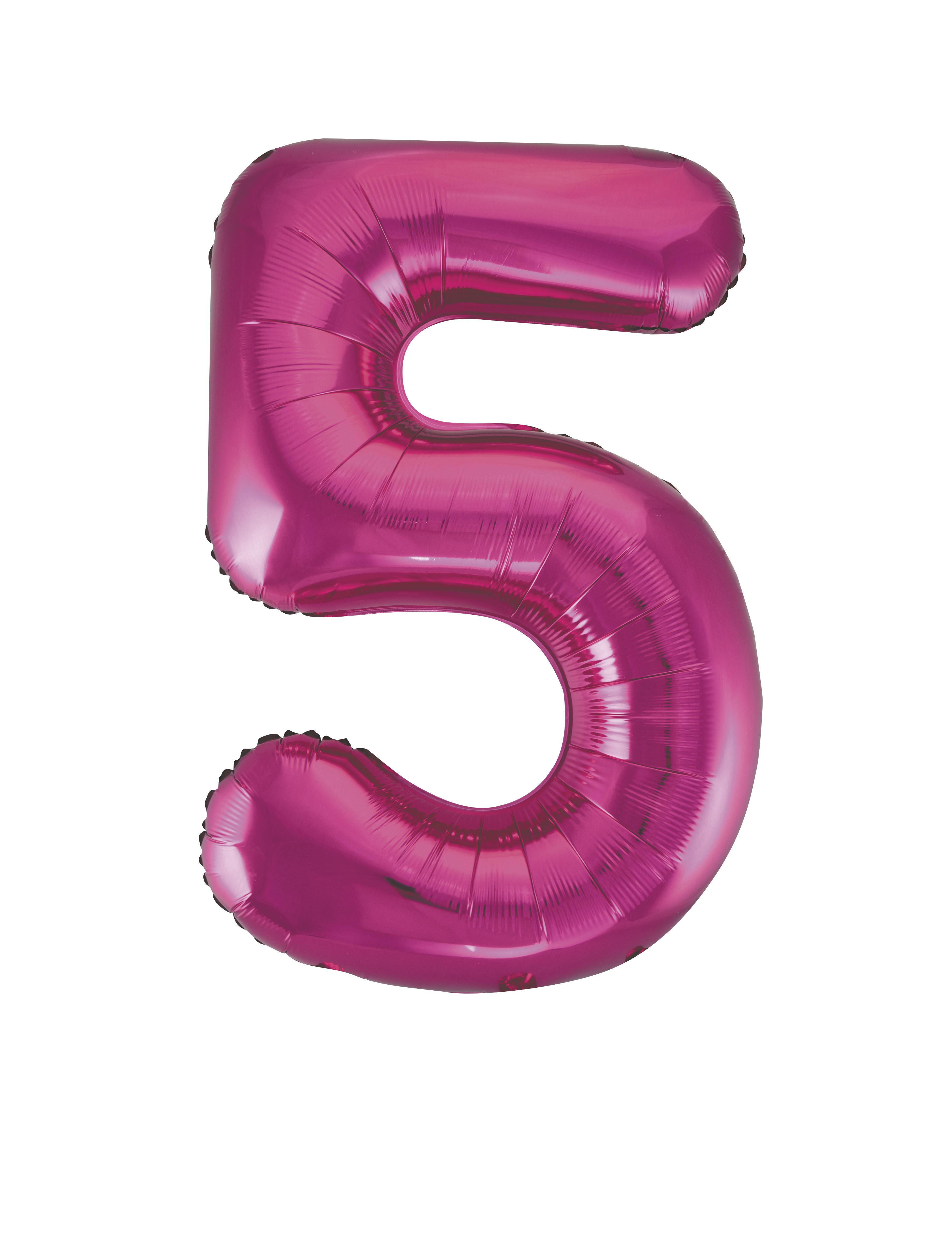 86-4cm-Geant-Aluminium-Numero-Rose-Helium-Gros-Ballons-Fete-D-039-Anniversaire miniature 13