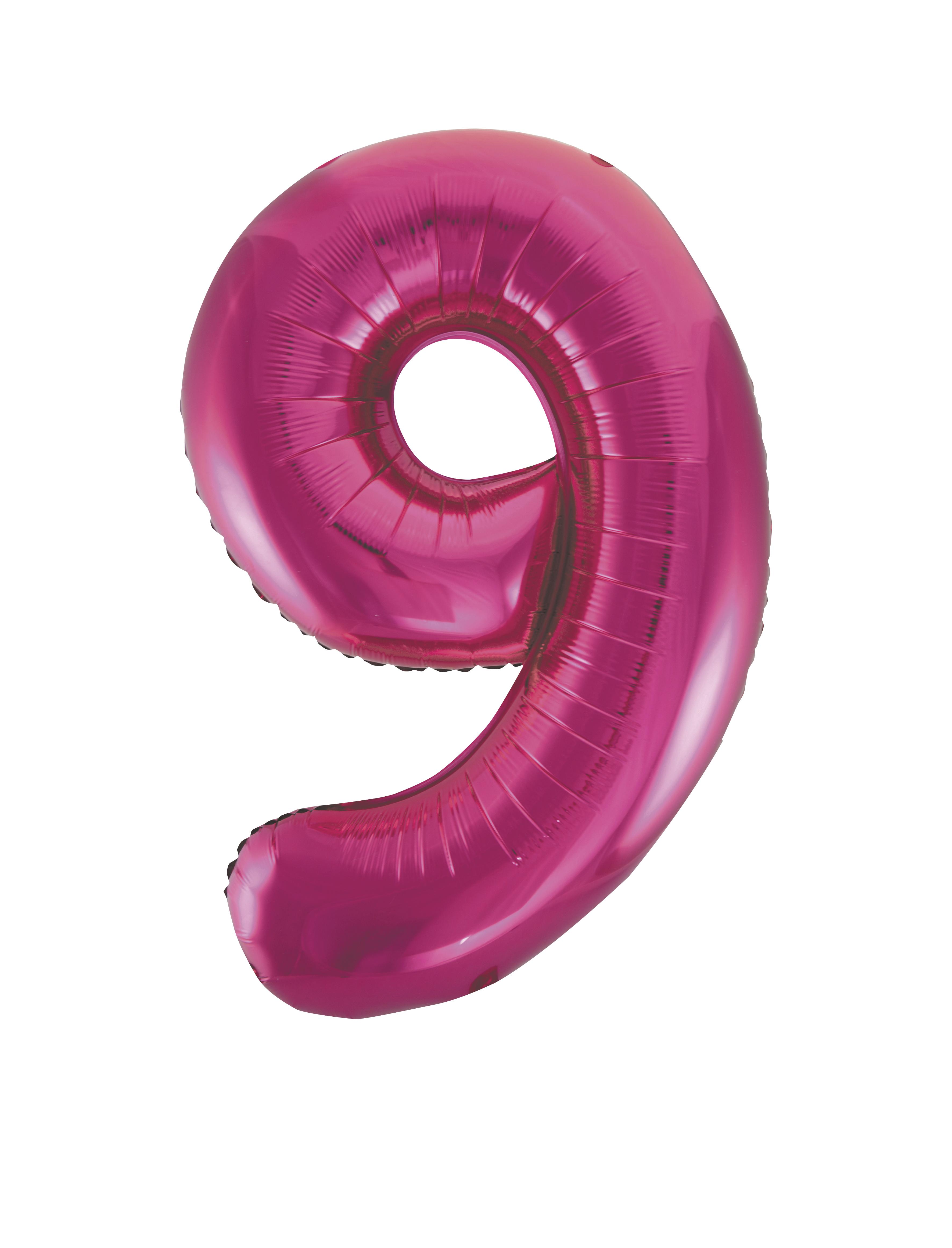 86-4cm-Geant-Aluminium-Numero-Rose-Helium-Gros-Ballons-Fete-D-039-Anniversaire miniature 21
