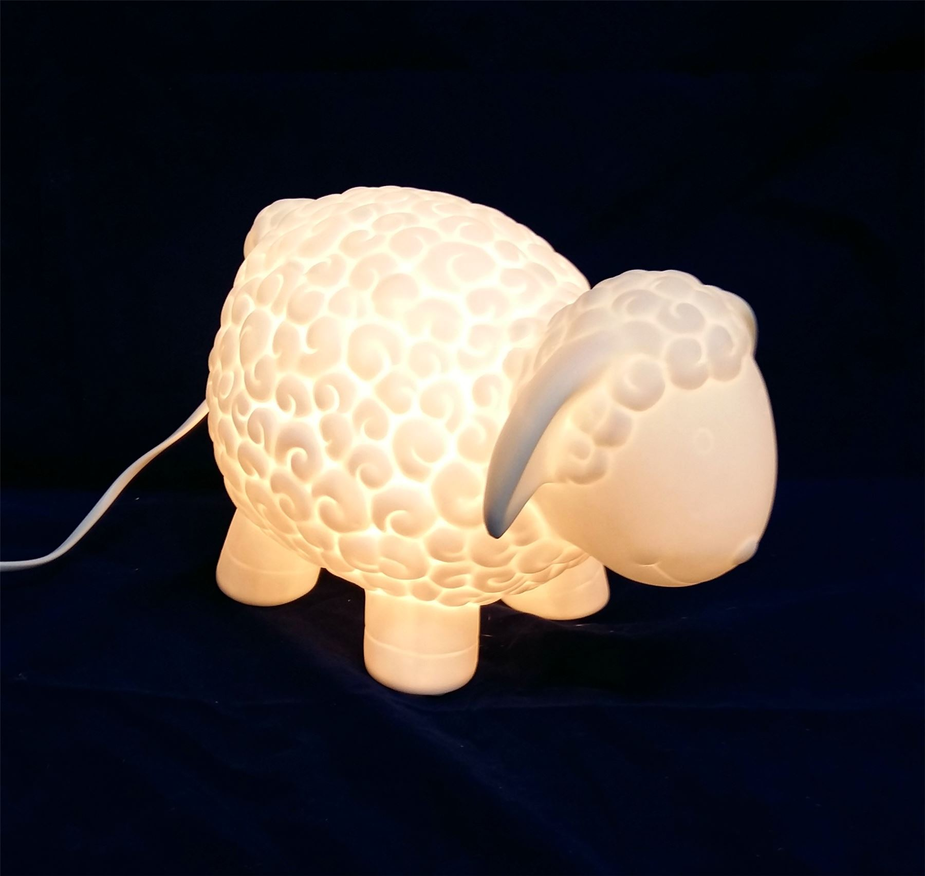 Light Glow Electric Table Wall Kids Bedside Lamp Dinosaur