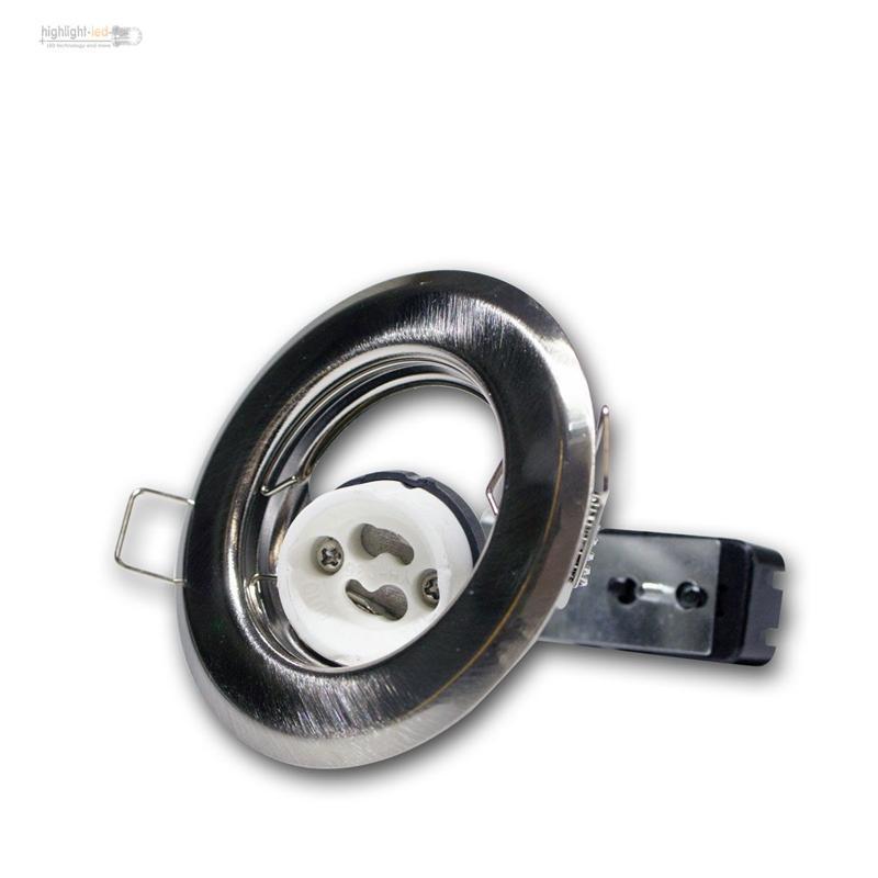 GU10-Marco-de-montaje-lampara-empotrable-con-armadura-Foco-Instalacion-techo