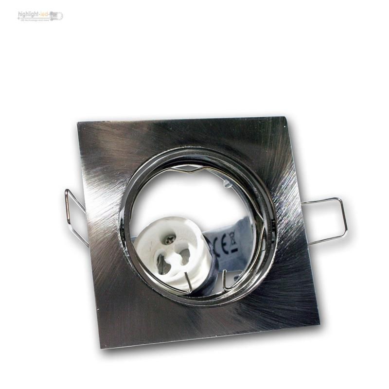 GU10-Einbaurahmen-Einbauleuchten-mit-Fassung-Einbauspot-Deckenstahler-Rahmen
