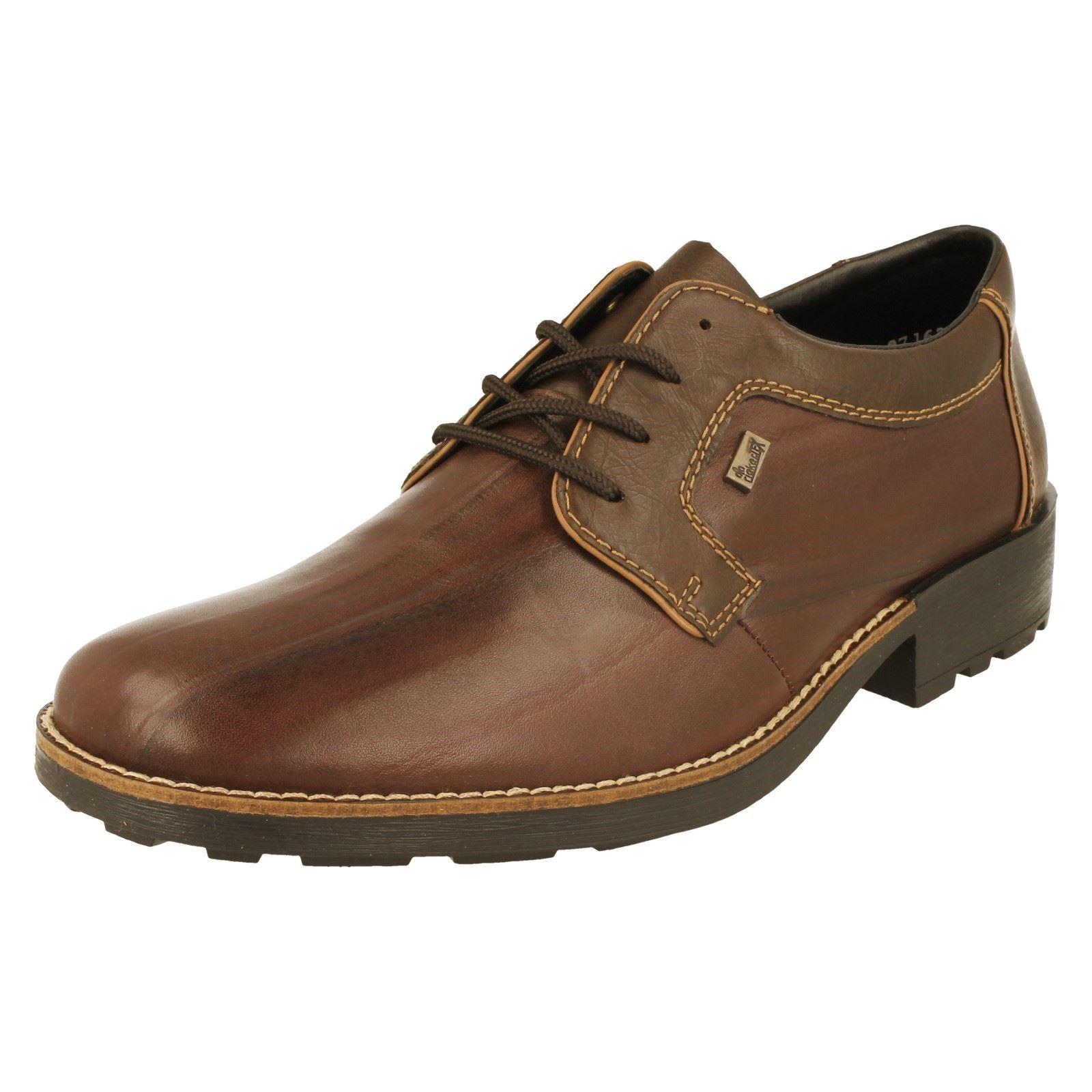 best sneakers 1a549 14587 Dettagli su Uomo Rieker Scarpe Eleganti '16024