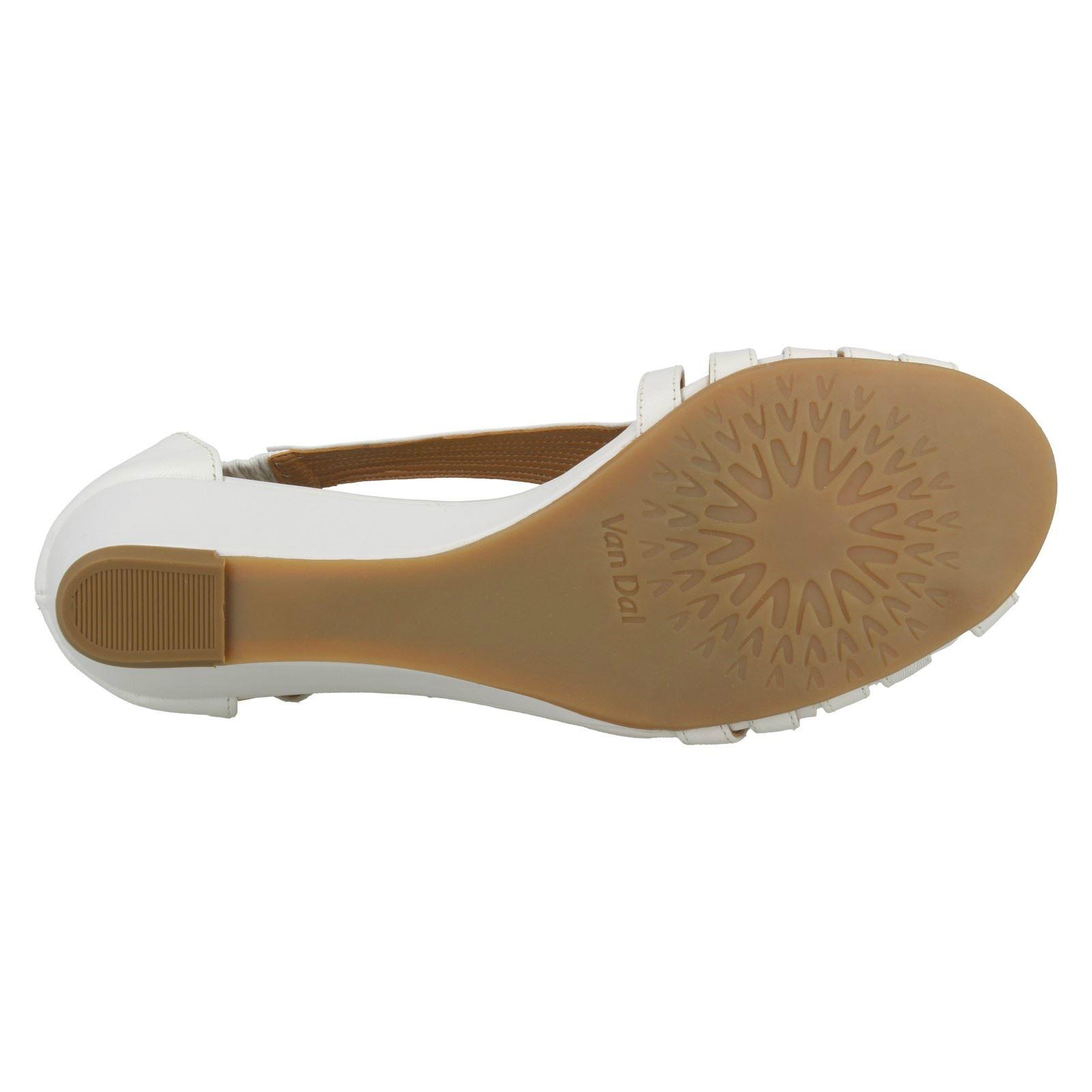 Ladies-Van-Dal-Wedge-Strappy-Sandals-Lucie thumbnail 18