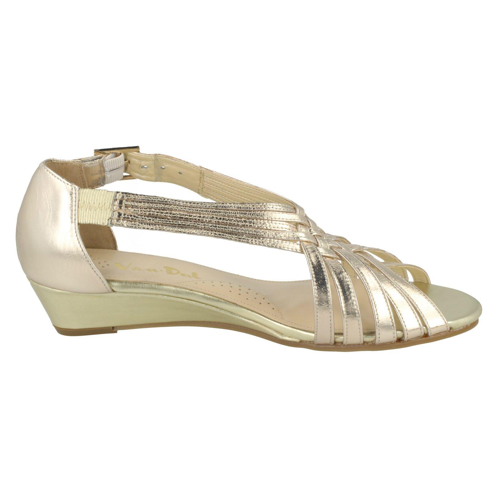 Ladies-Van-Dal-Wedge-Strappy-Sandals-Lucie thumbnail 24