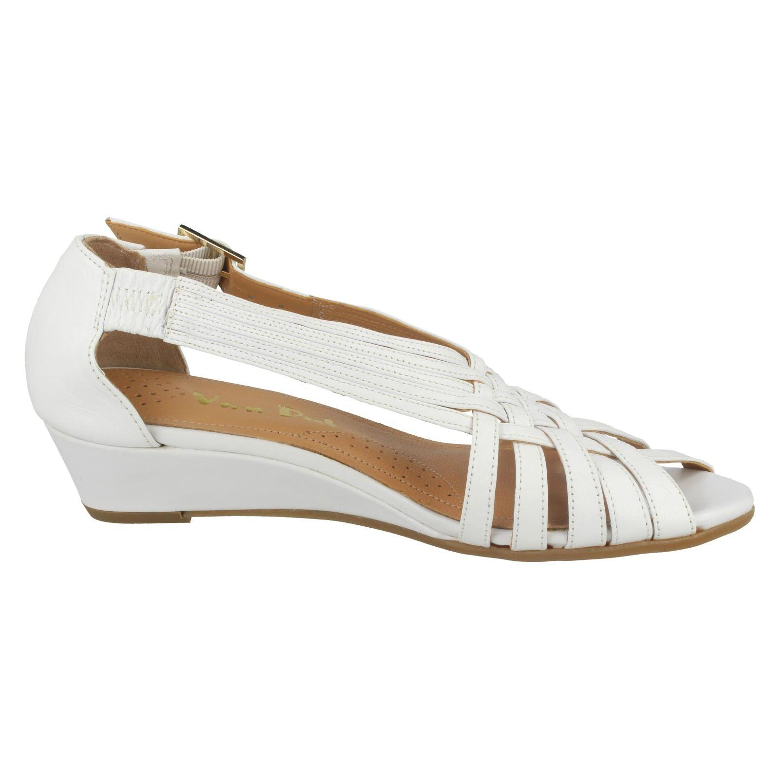 Ladies-Van-Dal-Wedge-Strappy-Sandals-Lucie thumbnail 12