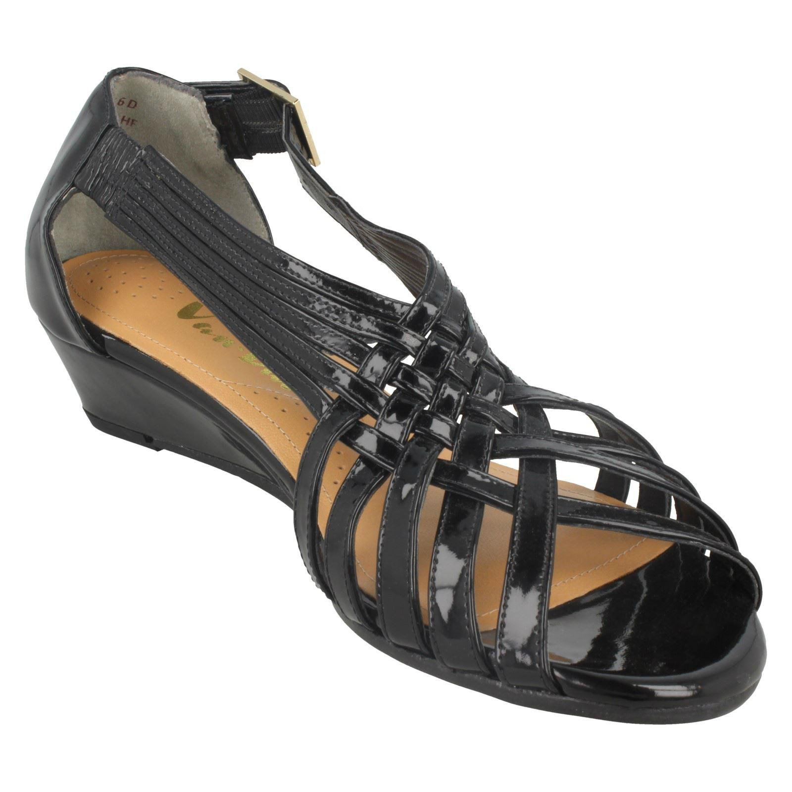 Ladies-Van-Dal-Wedge-Strappy-Sandals-Lucie thumbnail 10
