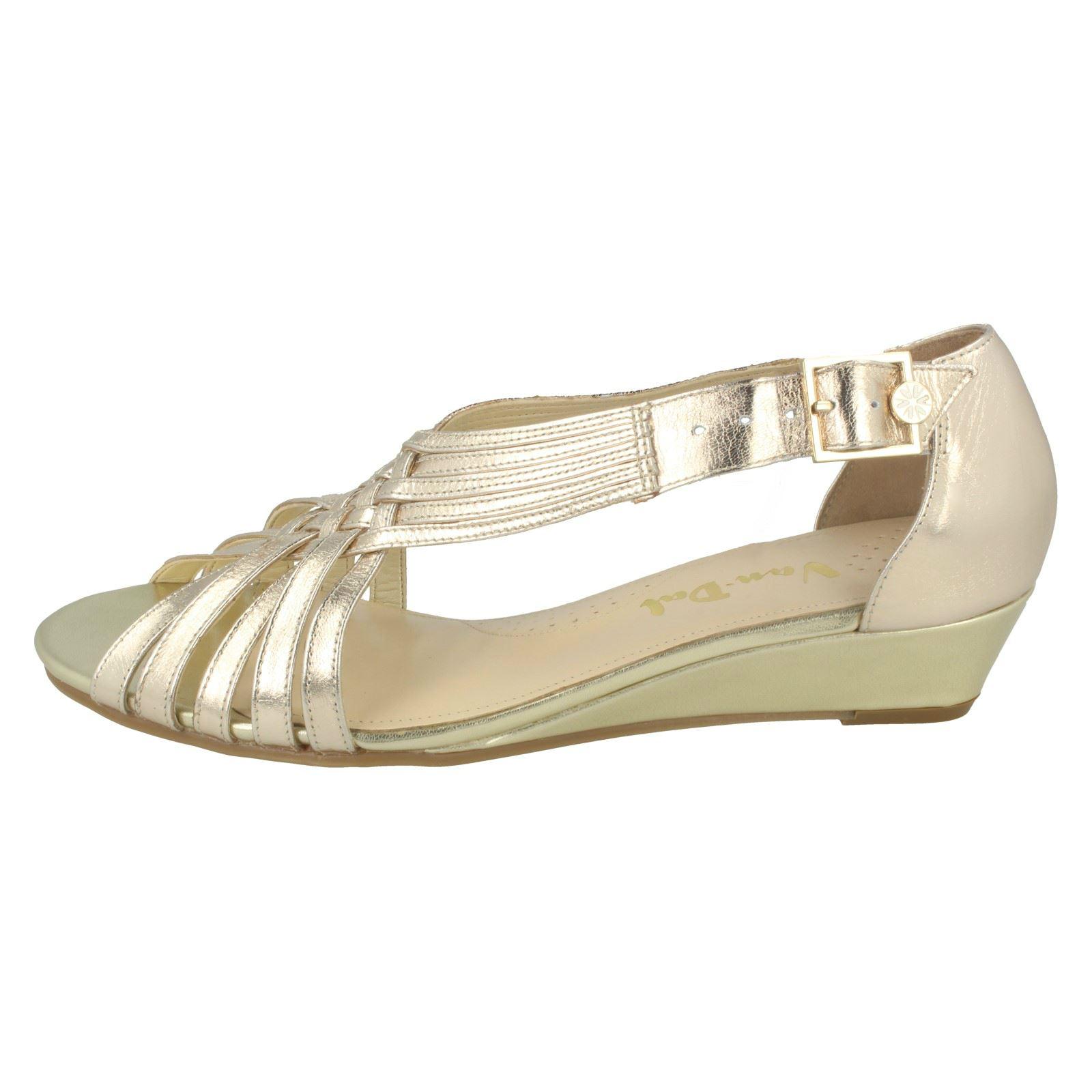 Ladies-Van-Dal-Wedge-Strappy-Sandals-Lucie thumbnail 22