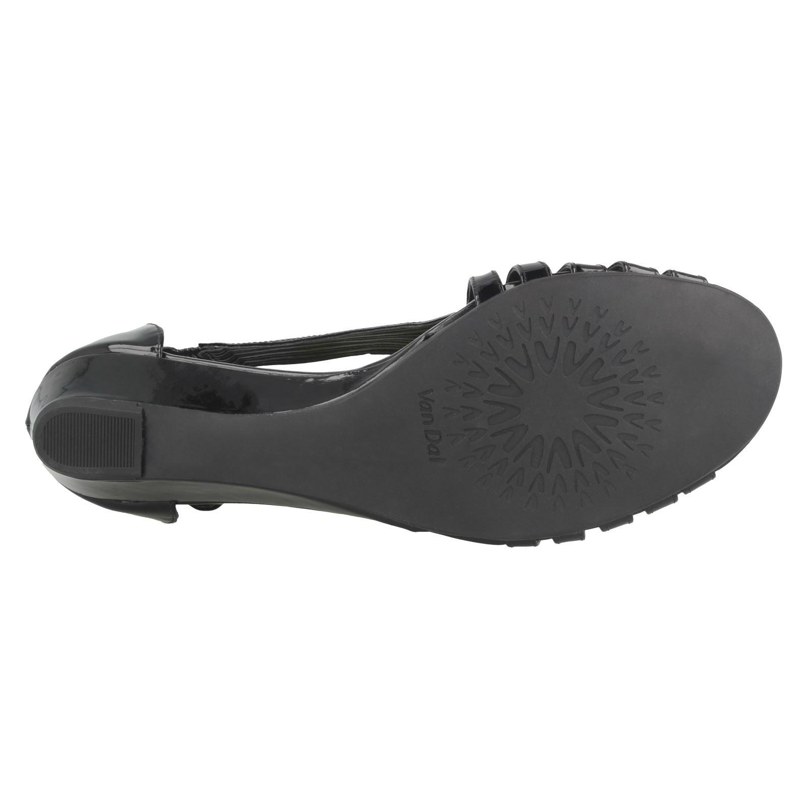 Ladies-Van-Dal-Wedge-Strappy-Sandals-Lucie thumbnail 5